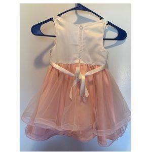 Rare Editions Dresses - Kids girls Dress with Shot jacket fur 3/3T years